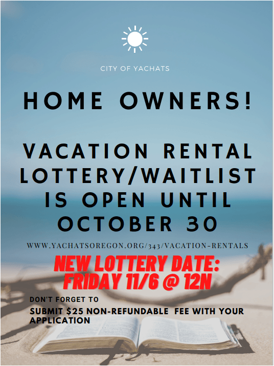 Vacation Rental Waitlist Announcement