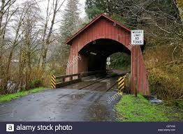 Yachats River North Fork Covered Bridge