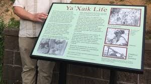Ya'Xaik Trail Informational Sign