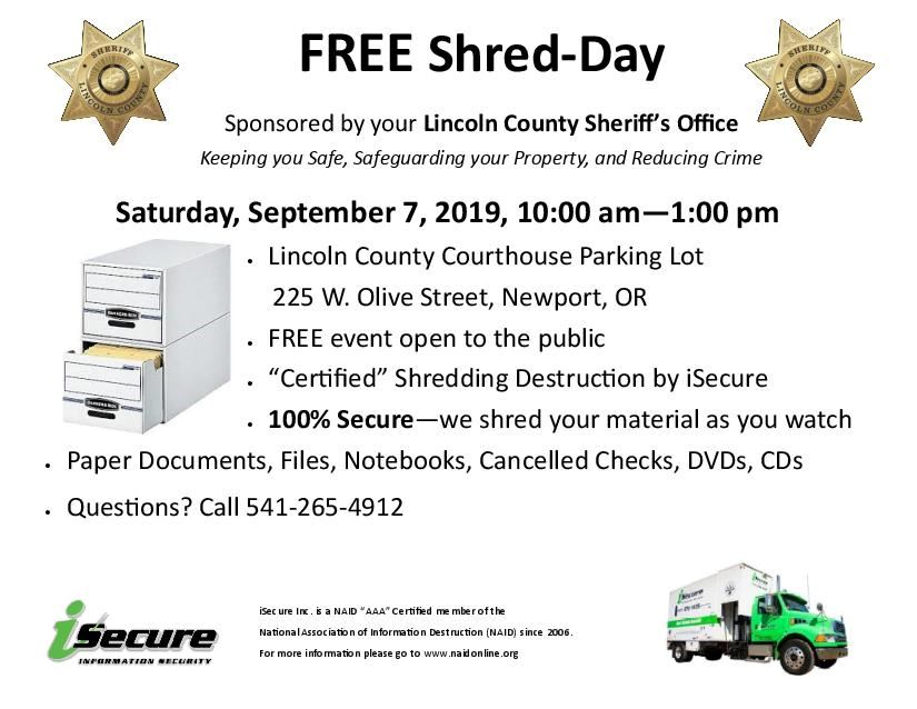 Free Shred Day